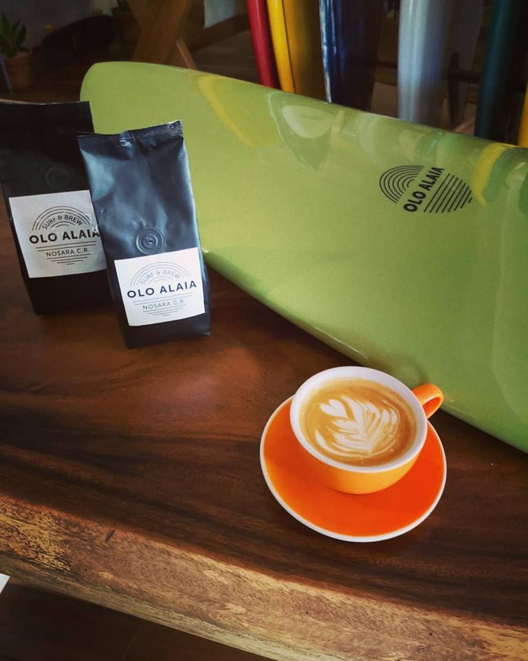 Olo Alaia coffee Nosara