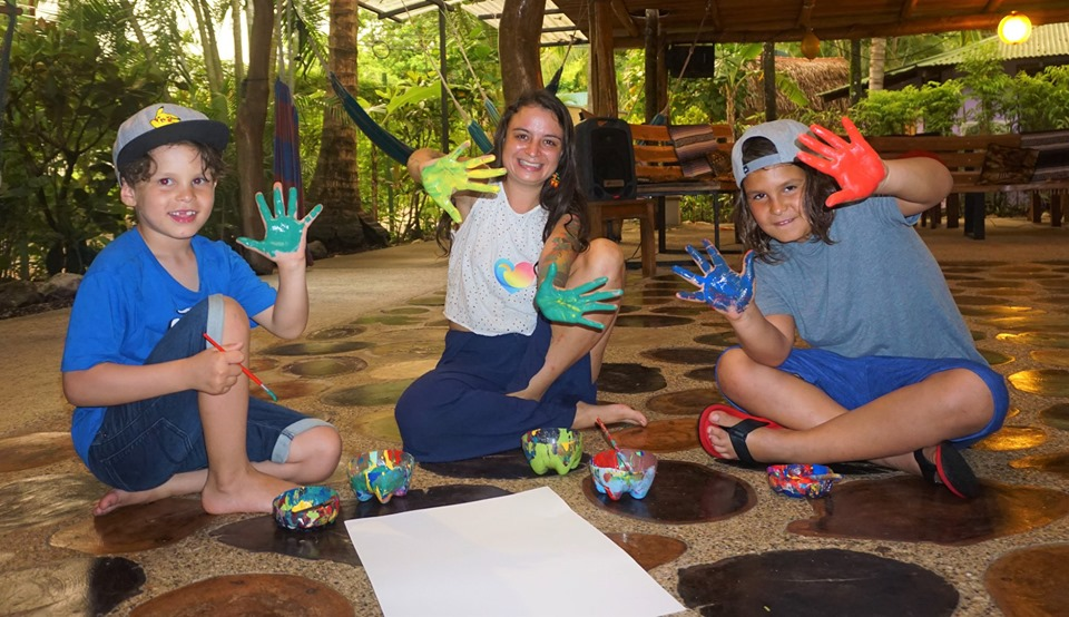 Buena Vibra Collective kids nosara