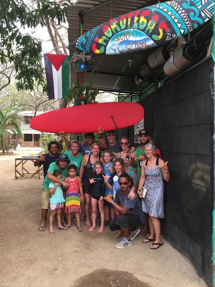 Chorotegas surf nosara