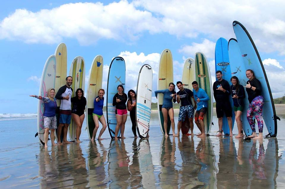 surf school nosara