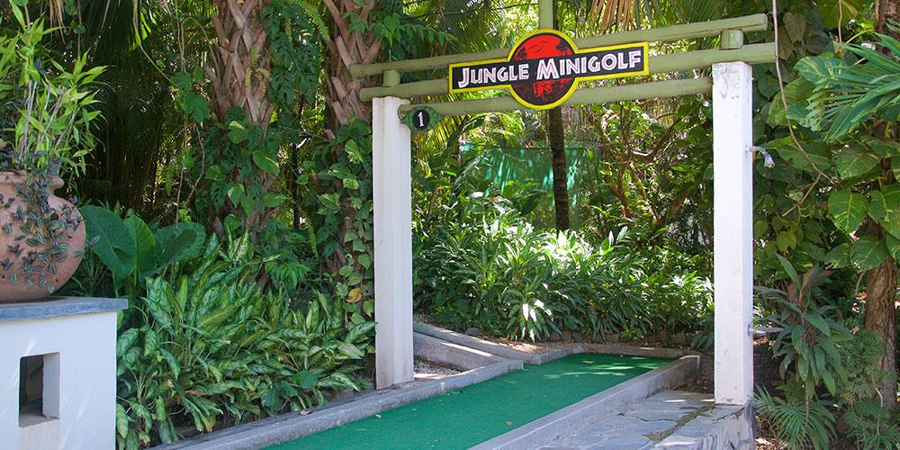 Jungle Mini Golf nosara