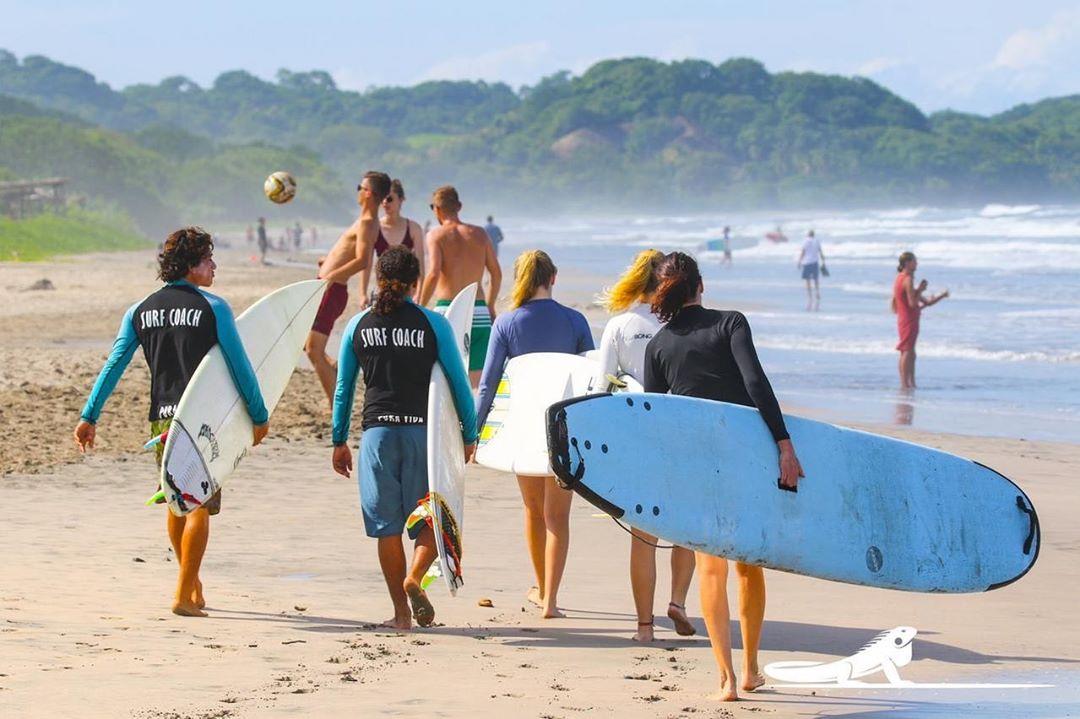 Nosara CR surf
